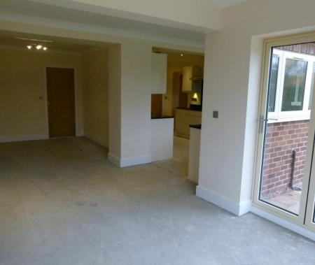 Living area from Garden room