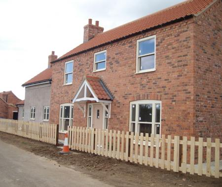 new build in Manby, Louth
